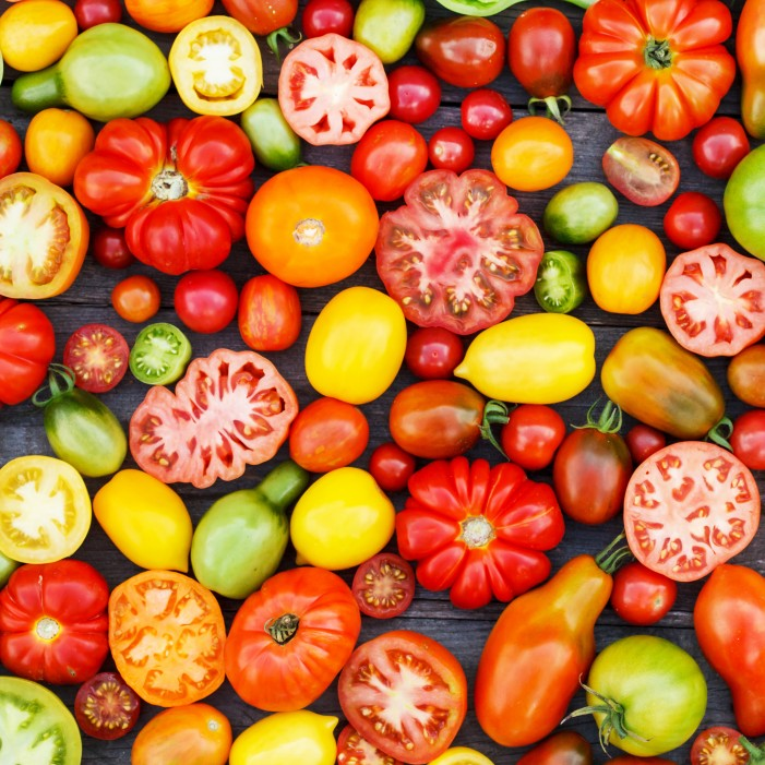 colorful tomatoes Healthy Vegetables