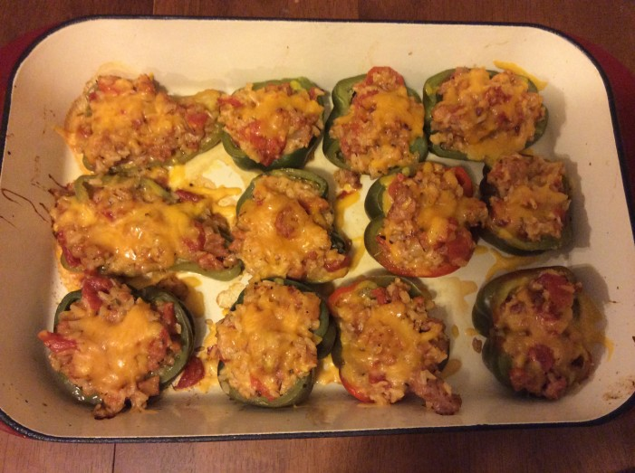 stuffed peppers, organic, blue springs, gluten free
