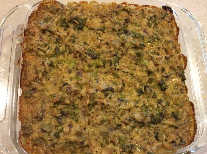Cheesy Broccoli Brown Rice Casserole Kansas City CSA